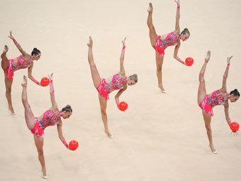 Гимнастки принесли сборной россии